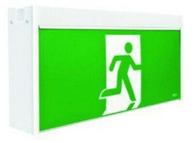 Stanilite JUMBO LED MAINTAINED EXIT SIGN 615x123x310mm SS <Picto-Wall Or Ceiling