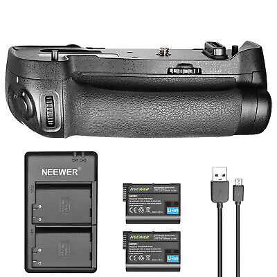 Neewer Battery Grip Replacement for MB-D17 for Nikon D500 w/ 2 Battery 1 Charger