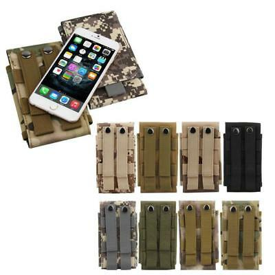 Universal Army Bag For Mobile Phone Belt Loop Hook Case Cover Pouch Holster YI
