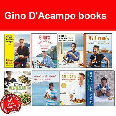 Gino D'Acampo books Healthy Italian Adriatic Coastal Escape Veg Italian Express