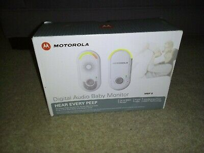 Motorola Baby monitor MBP8 Digitial Baby monitor new in box FREE POSTAGE