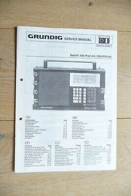 Service-Manual für Grundig Satellit 500 ,ORIGINAL