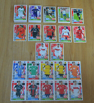 Topps Match Attax Extra 18/19 all 138 Basic Cards Complete Set 2018/2019
