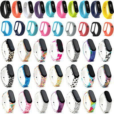 Various Replacement Sport Silicone Wriststrap Band Bracelet for Xiaomi Mi Band 3