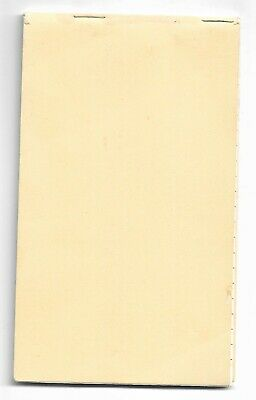 Queensland Rail Small Notebook Unused QR Imprint on all Pages