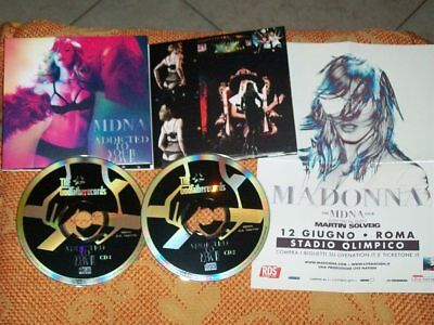 "Madonna 2 Cd Live ""addicted To Your Love"" Roma, Italy 2012 -Wow!- Top Rare!"