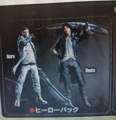 Devil May Cry 5 DMC ALTERNATE COLOUR COSTUME X 2 DLC PS4 code only
