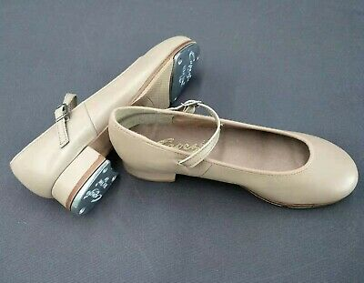 Capezio Showtime Tapper Dance Shoes Genuine Leather Premium Tan/CAR #3802