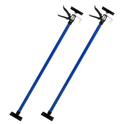 2x Drywall plasterboard builders easy prop ceiling support tool pole adjustable