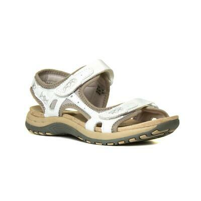 Earth Spirit Frisco Womens Leather Sandal in White