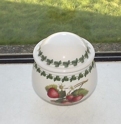 Portmeirion Strawberry Fair Lidded Sugar Bowl