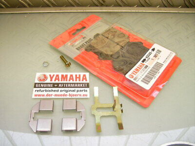 1x ORIGINAL YAMAHA SR500 XJ650 XS500 XS650 BRAKE CALIPER PADS SET + MOUNTING KIT