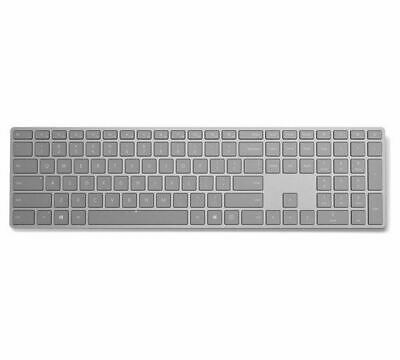 Microsoft Surface Wireless Keyboard with built in Number Pad Silver