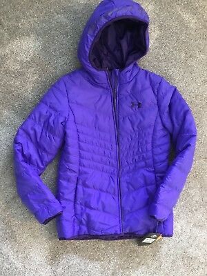 Youth girls winter jacket Under Armour brand Size Large. New