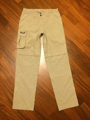 JACK WOLFSKN-Pantaloni Donna/Womens Zip-Off Pants Travel Hiking Outdoor Touring