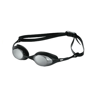 Arena Cobra Mirror Swimming Goggles Smoke Silver Black