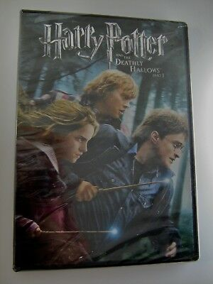 Harry Potter and the Deathly Hallows Part I DVD 2011 Daniel Radcliffe NEW Sealed