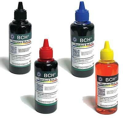 Bulk LOT Sale: BCH Standard Bulk 100 ml Refill Ink for HP, Canon, Epson