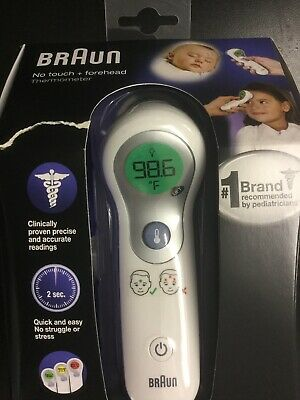 Braun Digital No Touch + Forehead Thermometer for Baby, Kids #0005