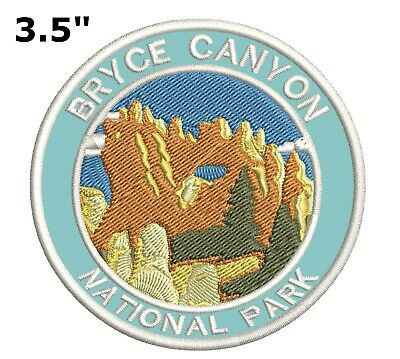 Bryce Canyon National Park Embroidered Patch Iron-On Souvenir Travel Explore