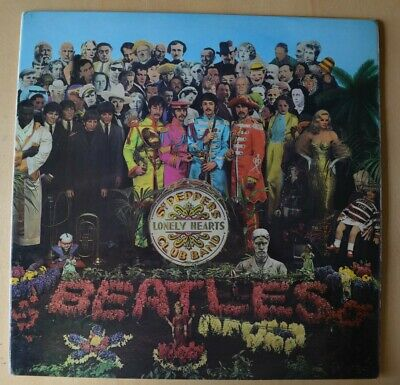 The Beatles: Sgt. Pepper's Lonely Heart - 1967 PMC 7027 Mono UK