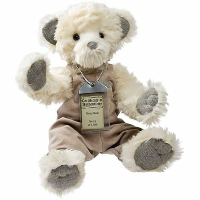 rrp £75 Special Offer Complete With Gift Bag Silver Tag Bears Oscar Fine Quality