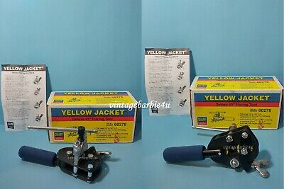 NEW Yellow Jacket #60278 Deluxe 45 Degree Flaring Tool ~ Box w/ Instructions