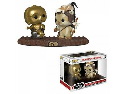 Figurine - Pop! Movie Moments - Star Wars - C-3PO on Throne - Vinyl - Funko