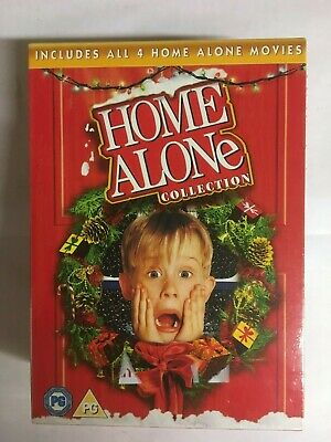Home Alone/Home Alone 2, 3 & 4  (Movie Collection) DVD  NEW & Sealed  WI2