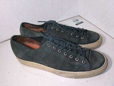 a59b7767ed098a Buttero Tanino - Military Green Suede Low Sneakers Shoes Mens Size 12 Us