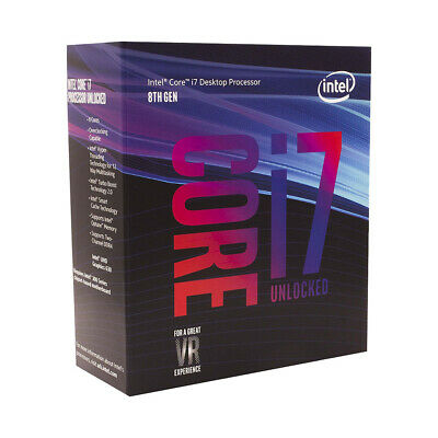 Intel Core i7-8700K Coffee Lake 6 Core CPU Processor BX80684I78700K