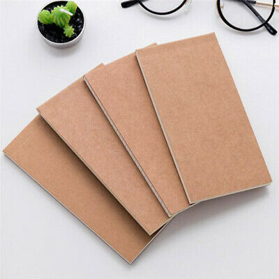 Vintage Style Kraft Paper Cover Note Book Diary Pocket Planner Notebook Memo LH