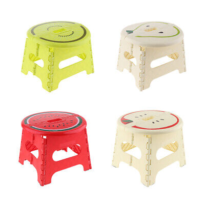 Stable Sturdy Folding Step Stool Home Kitchen Foldable Stepping Stools