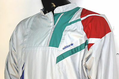 Adidas Giacchetta Jacket original vintage made West Germany 80s, taglia 44/S