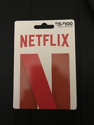 $25 Netflix GiftCard Unused