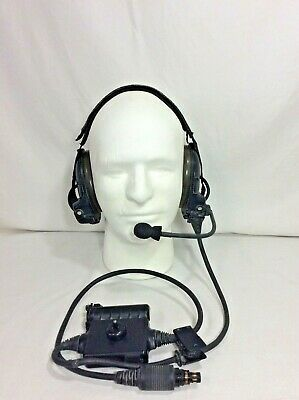 Military Issue Bose Triport Tactical Communication Head Set Nsn:5965-01-521-0941