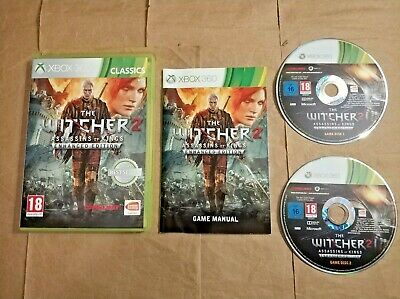 The Witcher 2 Assassins of Kings Enhanced Edition,Xbox 360,PAL,UK,VGC,2011,Game.