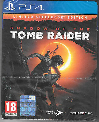Shadow of the Tomb Raider - Day 1 Steelbook Limited Edition (Playstation 4)