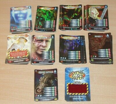Job lot of Doctor Who Battles In Time super rare cards