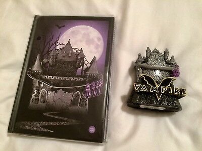 Chessington World of Adventures Theme Park Vampire Roller Coaster Model & Book
