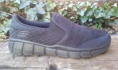 7ed139e7a9a Women s Skechers Relaxed Fit Slip On Casual Walking Shoes Black Size 4.5    36.5
