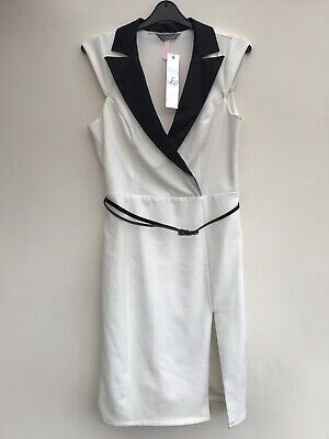 d47d3513d451 LIPSY TUX DRESS, size 12, new with tags - £9.00 | PicClick UK