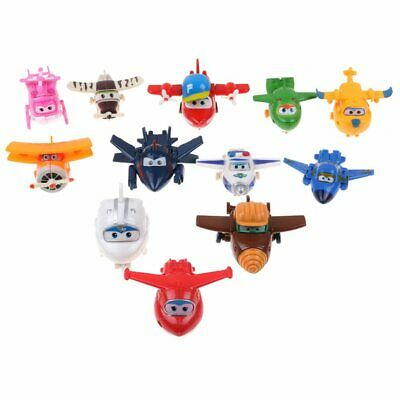 Super Wings Transform-a-Bots Mini Transformer Aeroplanes Choice of Character