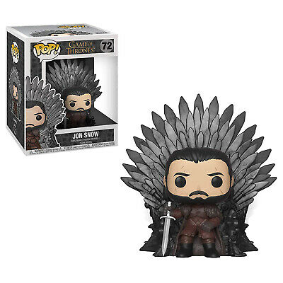Funko Game Of Thrones POP Jon Snow On Throne Figure Set NEW IN STOCK