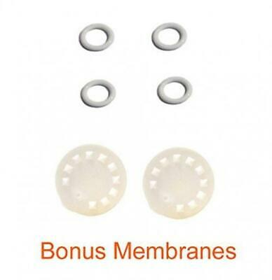 Replacement Parts for Medela Harmony Manual Pump; 4 O-rings, 2 Membranes by...