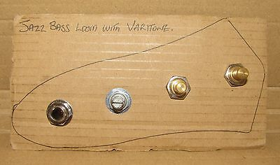 CTS upgrade wiring loom with Varitone - J bass