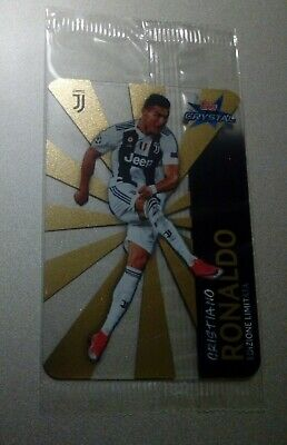 Card Cristiano Ronaldo Topps 2019 Juventus Cr7 Limited Edition Champions League