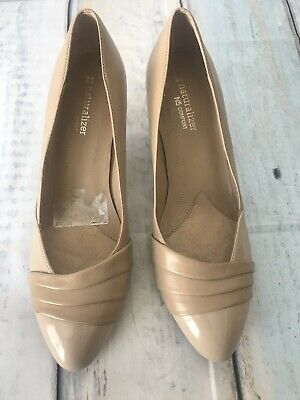 b70b771c045 WOMENS NATURALIZER N5 COMFORT Beige SHOES PUMPS HEELS SIZE 8M