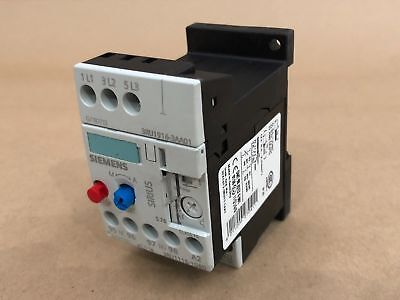 Siemens Overload Relay 3Ru1116-1Gbo With Mounting