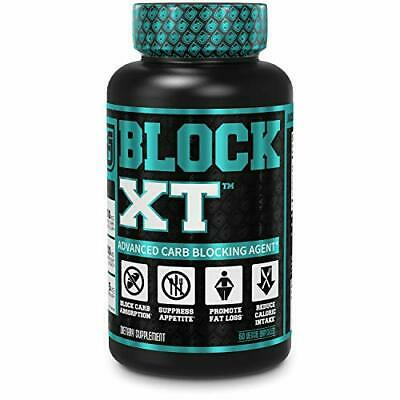 BLOCK XT Carb Blocker for Weight Loss. 60 Natural Keto Friendly Veggie Diet Pill